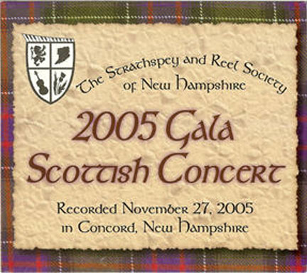2005 srsnh gala cd front cover